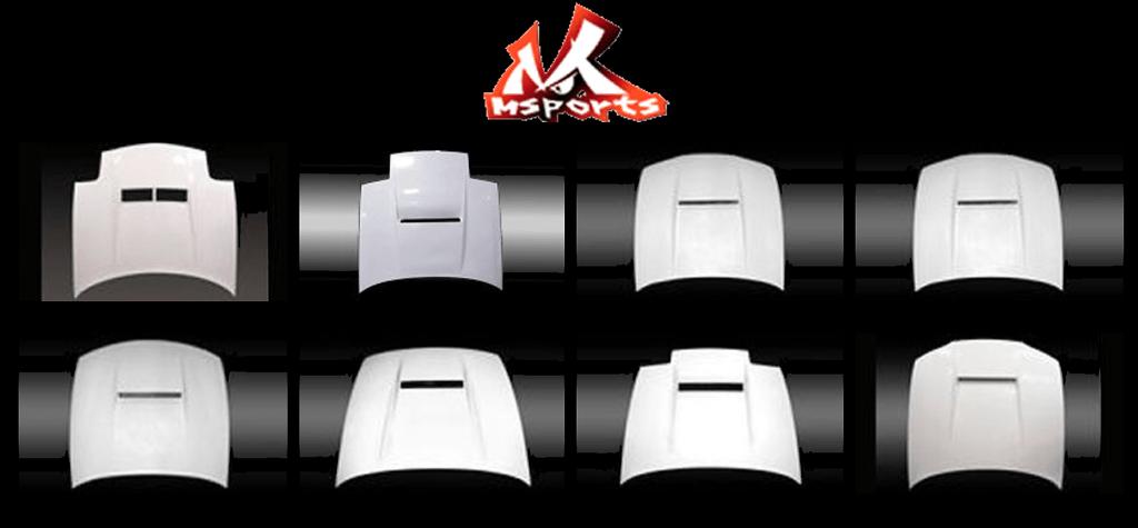 M Sports - Bonnet - Carbon