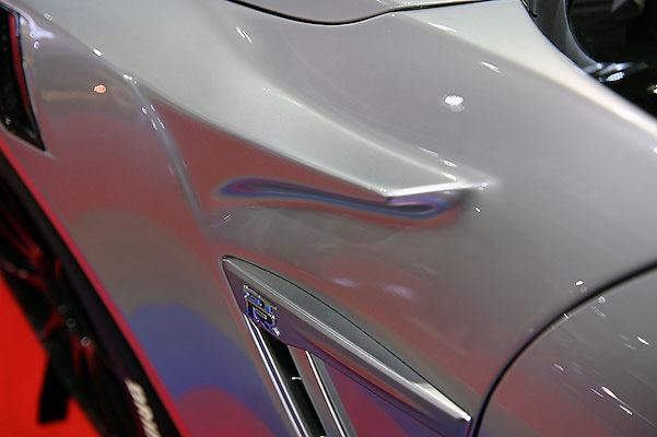 Top Secret - GT Front Wide Fenders for R35