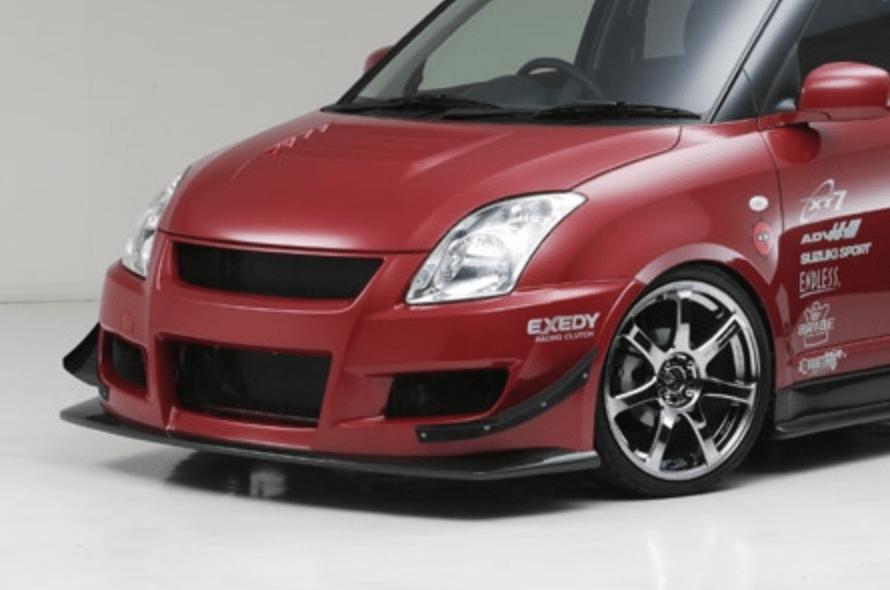 Material: FRP & Carbon - Front Aero Bumper & Carbon Lip
