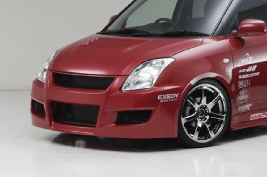 Material: FRP - Front Aero Bumper - FRP