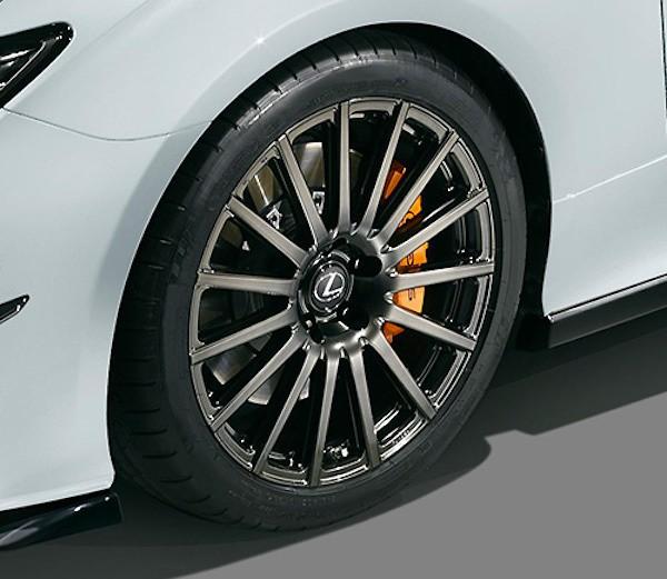 "Front Wheel - Colour: Oak Gray Metallic - Size: 19"" - Width: 8.5J - Offset: +45 - Weight: 11.7kg - MS213-00096"