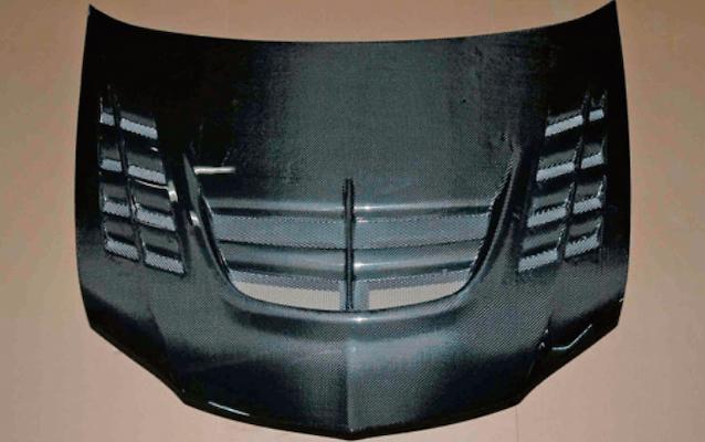 GT Bonnet - Construction: Carbon - ET-2