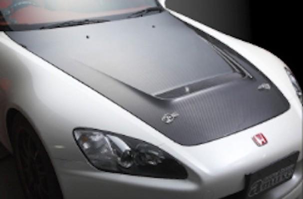 R1 Titan - S2000 Dry Carbon Bonnet
