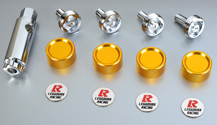 Project Kics - Leggdura Racing Number Plate Lock Bolts