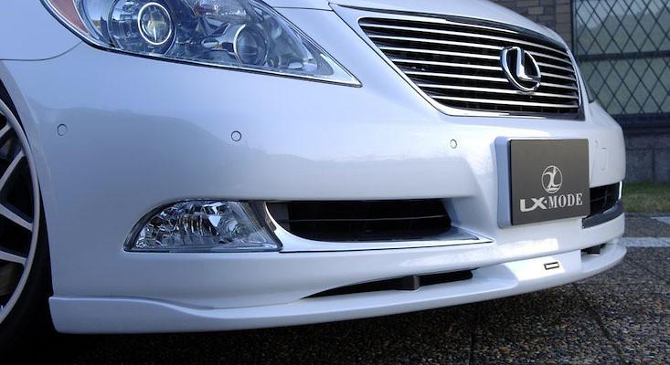 Bumper Chrome Garnish - Construction: ABS Resin - Colour: Chrome - LXM-BCG-LS