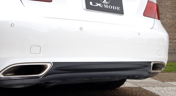 Rear Bumper Bottom Line - Construction: ABS Resin - Colour: Gun-metallic - Colour: Matte Black - LXM-RBBL-LS