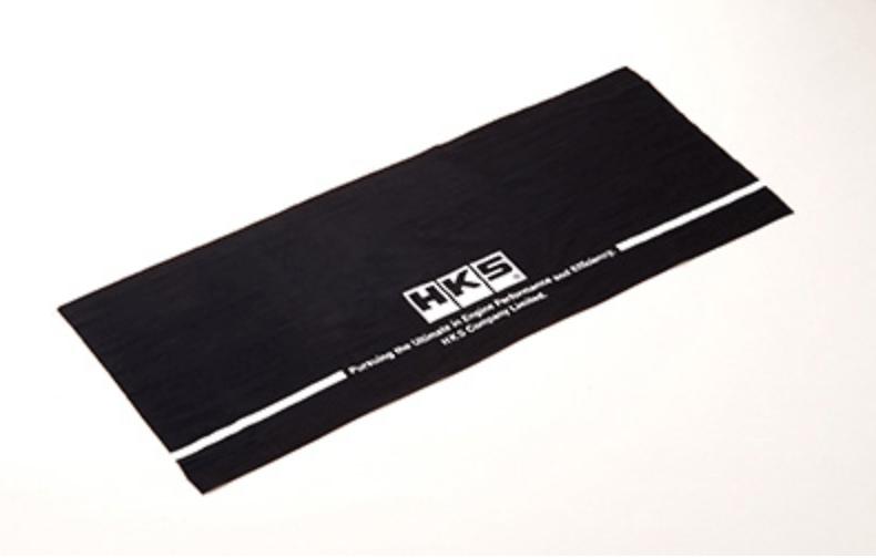 HKS Japanese Towel - Colour: Black - Material: 100% Cotton - Size: 35cm x 90cm - 51007-AK204