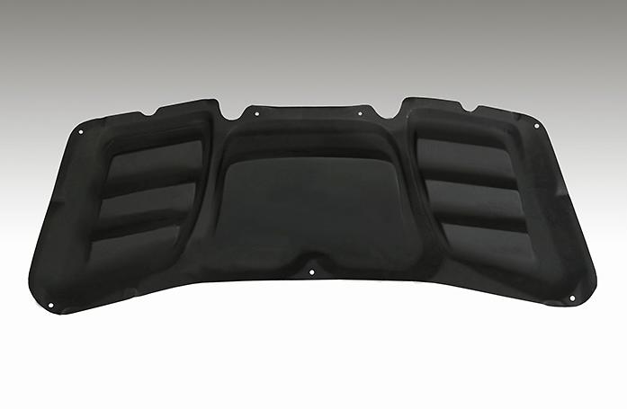Aero Bonnet - Construction: FRP - Colour: Unpainted - NSPECFD2-ABFRP