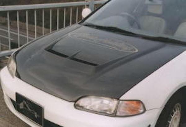 Aero Bonnet - Material: Carbon/FRP - FM-EG6AP-ABCF