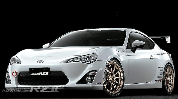 Yokohama Wheel - ADVAN Racing RZII Wheels