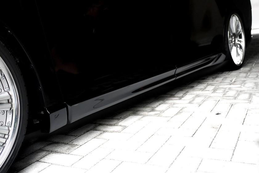 Side Steps - Construction: FRP - Colour: Unpainted - WALD-VFVX-SS