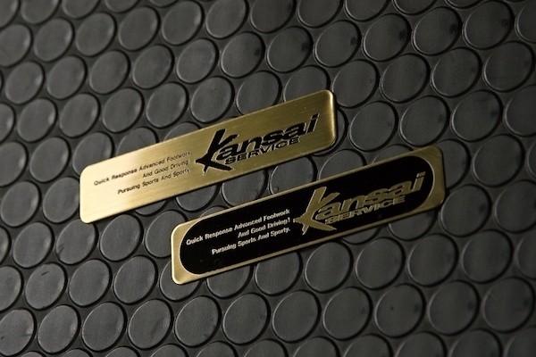 Size: 10x2cm - Colour: Gold Lettering - EM-3-B