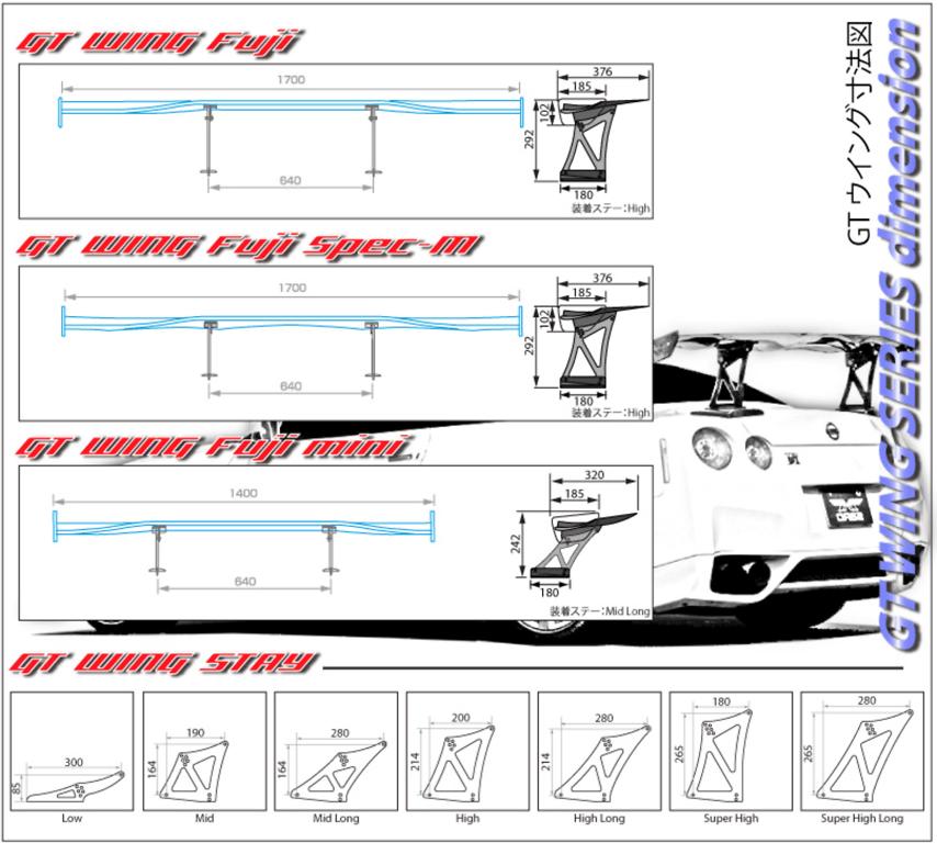 Sard - GT Wing Fuji Mini