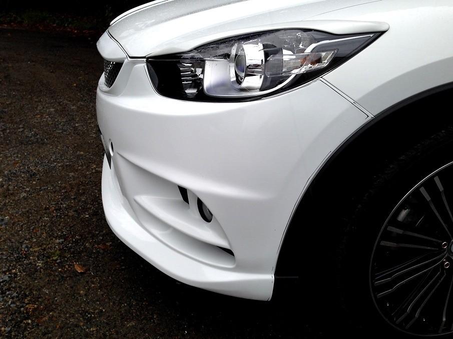 Material: FRP - Color: Unpainted - Cx-5-front-bumper-01