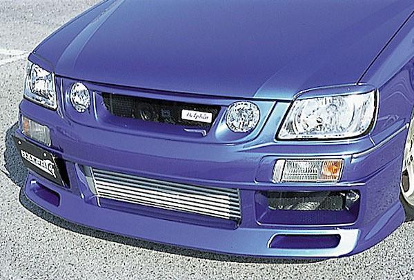 Front Bumper Spoiler - Construction: FRP - Colour: Unpainted - FDAFK-WC34S2-FBS