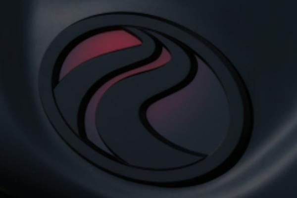 Front Emblem - Colour: Matte Black / Red Base - KUHL-ZC33S-FE