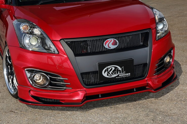 Front Lip Spoiler - Material: High Grade FRP - Colour: Painted (Color Code Required) - KUHL-32R-SS-FLS-HGP