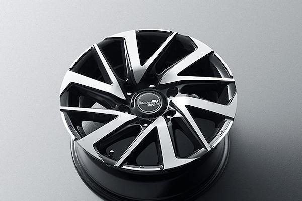"Set of 4 - Colour: black metallic × polish - Size: 17"" - Width: 8.0J - D2426-56230"