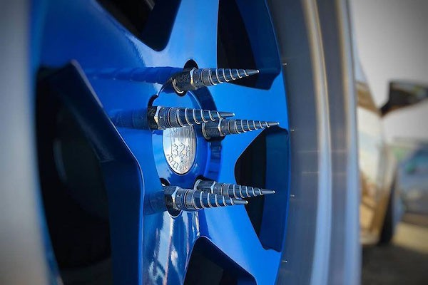 326 Power - Wheel Nut L Size + Crown Cap Set