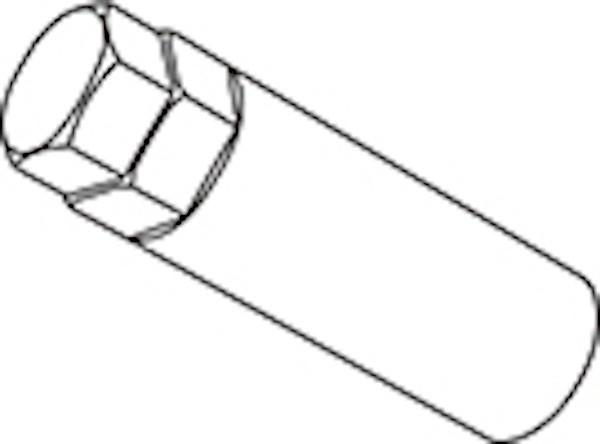 Replacement Dedicated Adapter - Diameter: 19/21HEX - Quantity: 1 - A60 L90