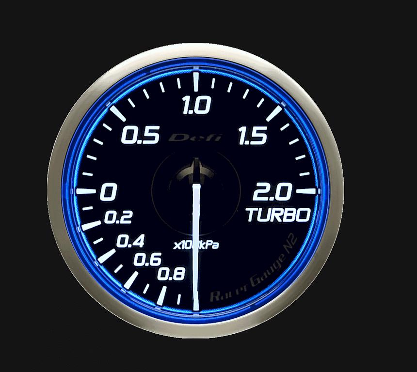 Type: Turbo Meter - Color: Blue - Diameter: 60mm - Range: -100kPa to 200kPa - DF16601
