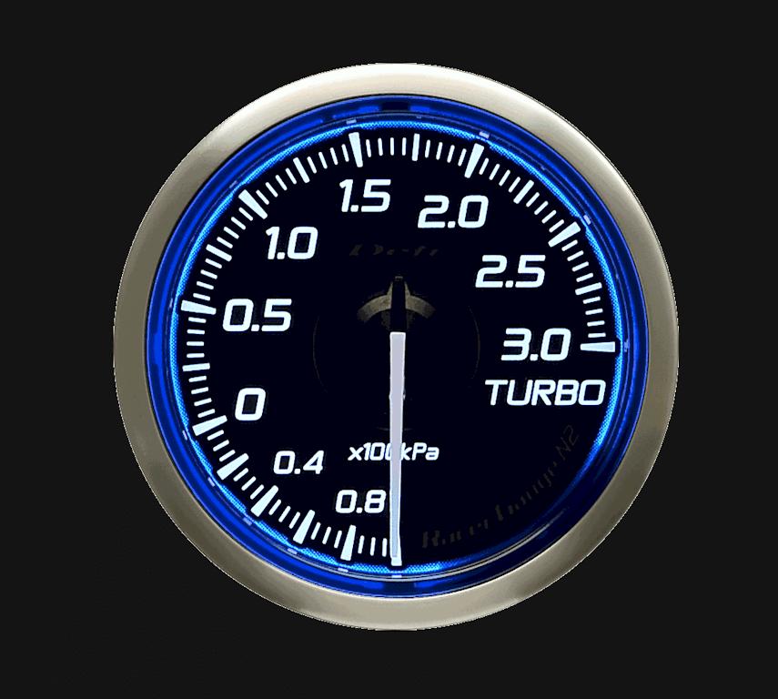 Type: Turbo Meter - Color: Blue - Diameter: 52mm - Range: -100kPa to 300kPa - DF16101