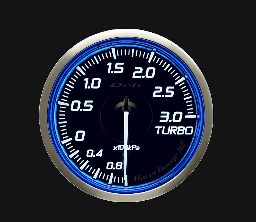 Type: Turbo - Color: Blue - Diameter: 60mm - Range: -100kPa to 300kPa - DF16701