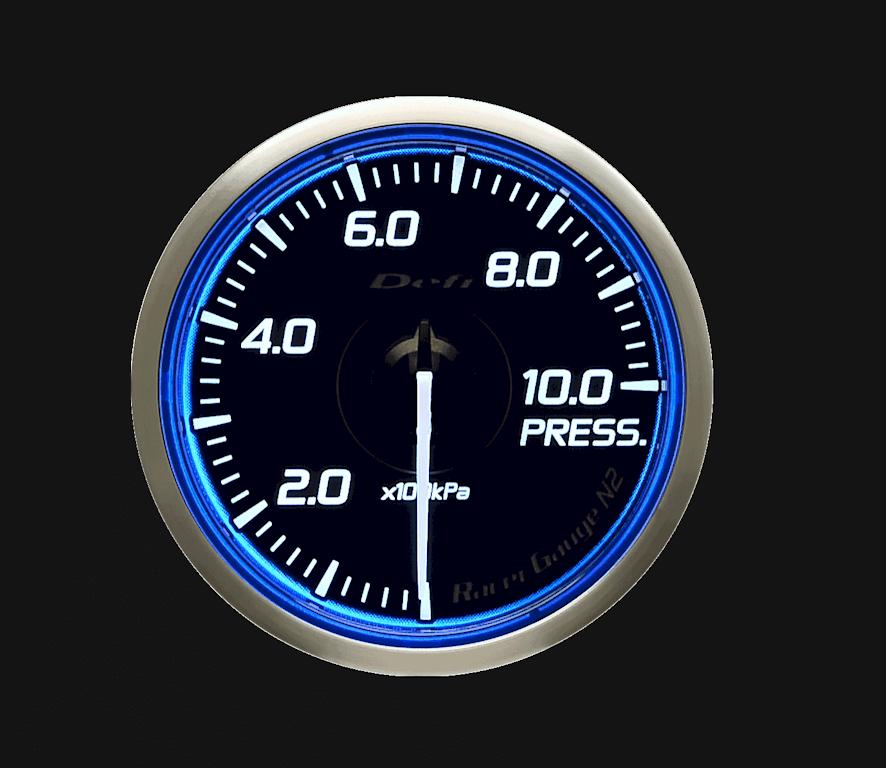 Type: Pressure - Color: Blue - Diameter: 60mm - Range: 0 to 1000kPa - DF16801