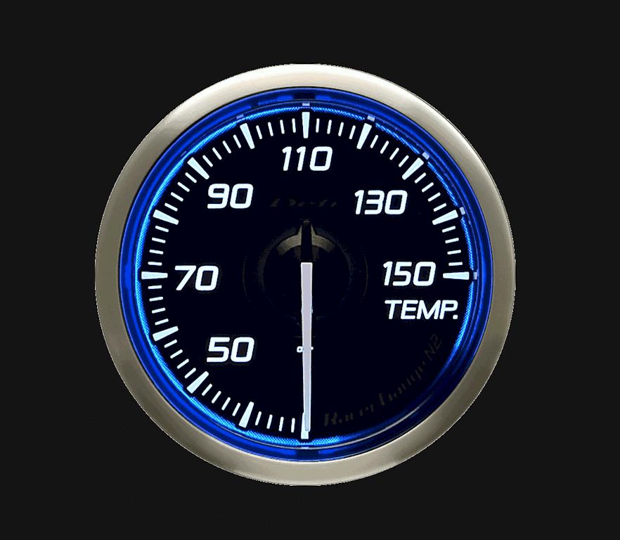 Type: Temperature - Color: Blue - Diameter: 52mm - Range: 30 to 150C - DF16301