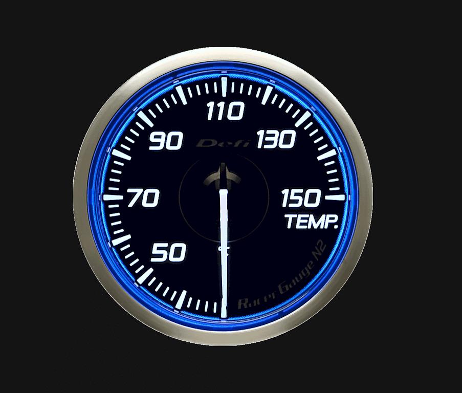 Type: Temperature - Color: Blue - Diameter: 60mm - Range: 30 to 150C - DF16901