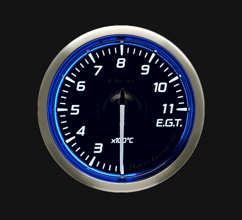 Type: Exhaust Temperature - Color: Blue - Diameter: 52mm - Range: 200 to 1100C - DF16401