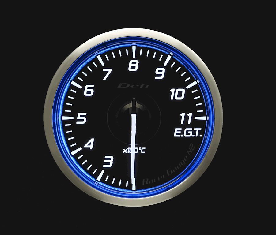 Type: Exhaust Temperature - Color: Blue - Diameter: 60mm - Range: 200 to 1100C - DF17001