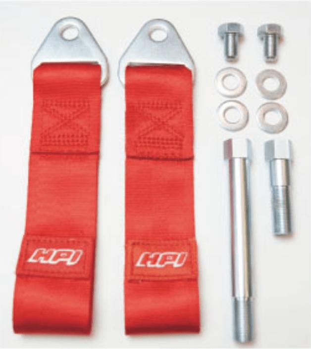 Colour: Red - Length: 10cm - Strength: 3000kg - HPCG-TBZN6