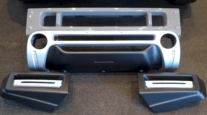 Front Bumper Spoiler - Construction: FRP - Colour: Unpainted - KS-JB74W-FBS