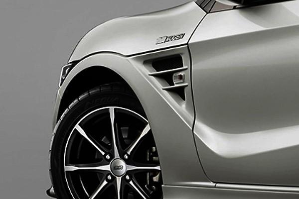Front Aero Fenders - Construction: FRP - Colour: Unpainted - 60200-XNA-K0S0