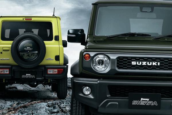 Suzuki - Genuine Suzuki Jimny Sierra Accessories