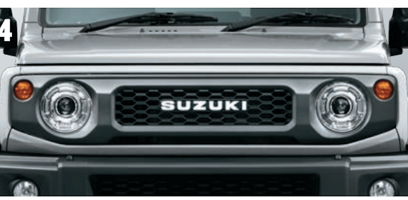 Front Grill with Logo - Category: Exterior - 9911C-78R10-ZSC