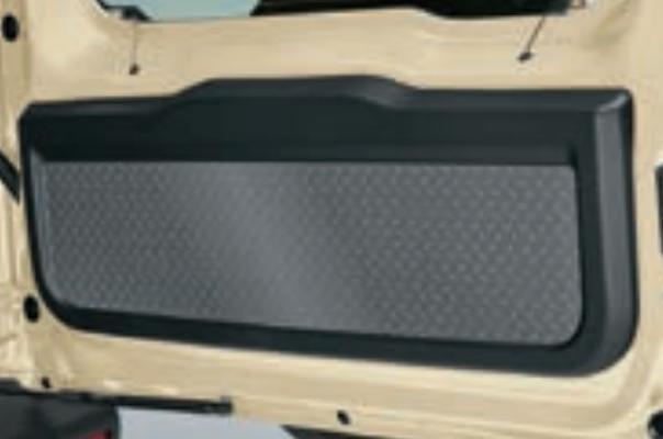 Rear Door Inner Garnish - Steel Checkerplate Pattern - Category: Interior - 99158-77R10-002