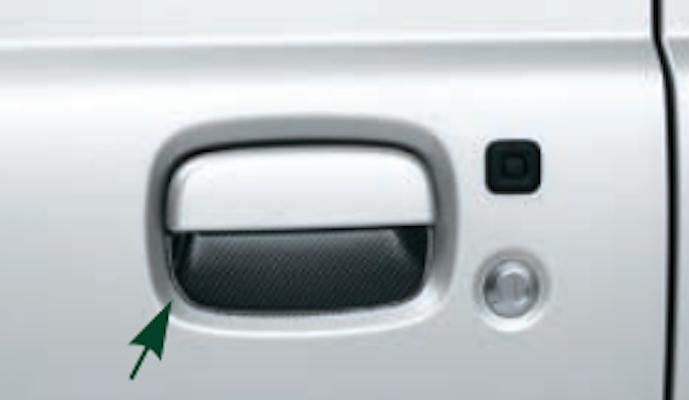 Door Handle Escutcheon - (L&R) - Category: Exterior - Colour: Carbon Look - 99126-77R00