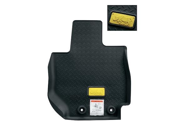 Rubber Floor Mat - Rhino Logo (Front + Rear) - Category: Interior - 75901-77R50