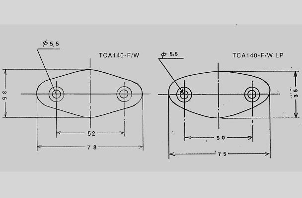 Craft Square - Works Type Super GT TCA140-F/W Mirrors