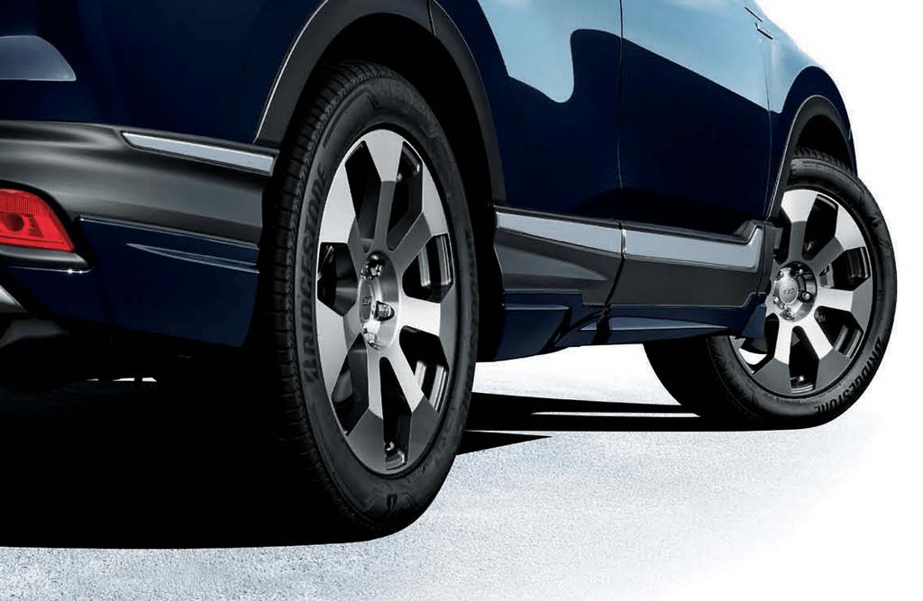 "Aero & Wheel Set - Front under spoiler, Side garnish, Rear under spoiler & MDR 19"" Wheels - Colour: Crystal Black Pearl (CB) - Colour: Luce Black Metallic (RS) - Colour: Luna Silver Metallic (RN) - Colour: Midnight Blue Beam Metallic (BX) - Colour: Platinum White Pearl (PZ) - Colour: Premium crystal Red Metallic (RM) - 68900-XNK-K0SY"