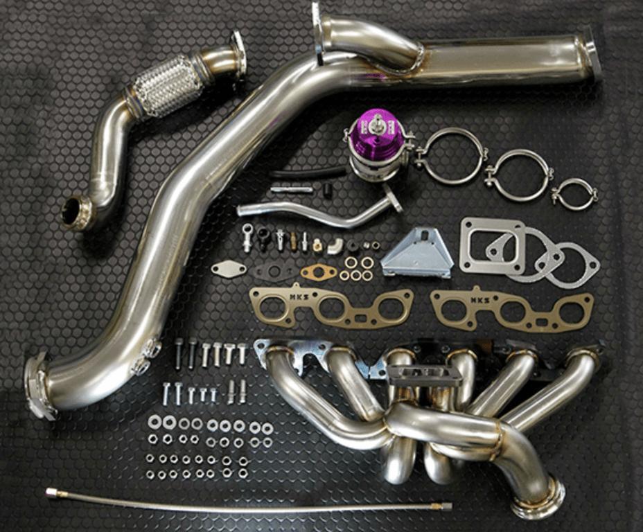 Turbocharger: GTIII-4R - Wastegate: GTII 60mm - 14020-AN013