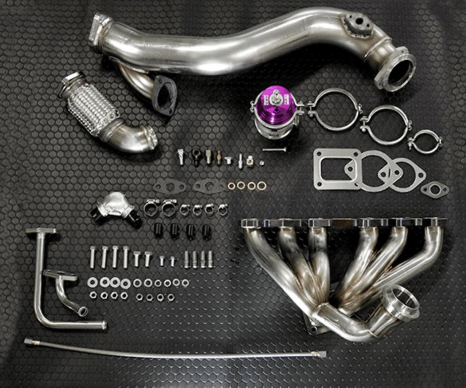Turbocharger: GTIII-4R - Wastegate: GTII 60mm - 14020-AT004