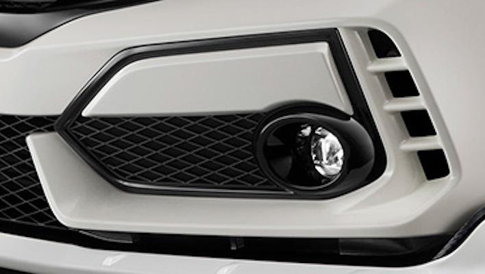 Front Bumper Garnish - Construction: ABS - Colour: Brilliant Sporty Blue Metallic (BT) - Colour: Championship White (CW) - Colour: Crystal Black Pearl (CB) - Colour: Flame Red (FR) - 62600-XNCF-K0S0-##