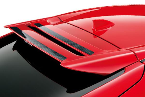 Tailgate Spoiler - Construction: FRP - Colour: Unpainted - 84112-XNCD-K0S0