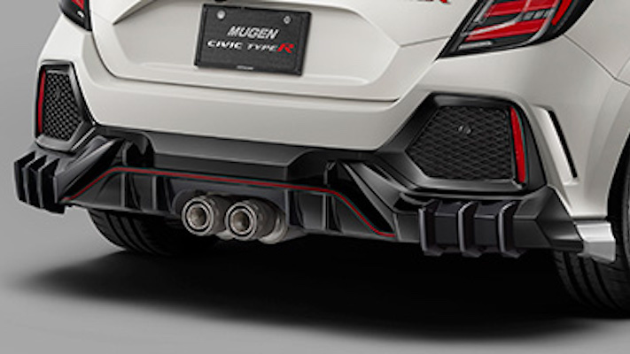 Rear Under Spoiler (colored x glossy black paint finish) - Construction: PPE - Colour: Brilliant Sporty Blue Metallic (BT) - Colour: Championship White (CW) - Colour: Crystal Black Pearl (CB) - Colour: Flame Red (FR) - Base Color: Glossy Black - 84111-XNCF-K0S0-##