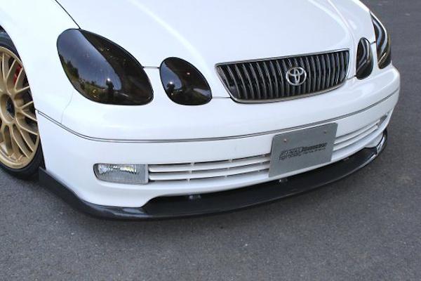 Front Lip Spoiler - Construction: Carbon - Colour: Black - Colour: Silver - FK-ZERO-16#-FLS