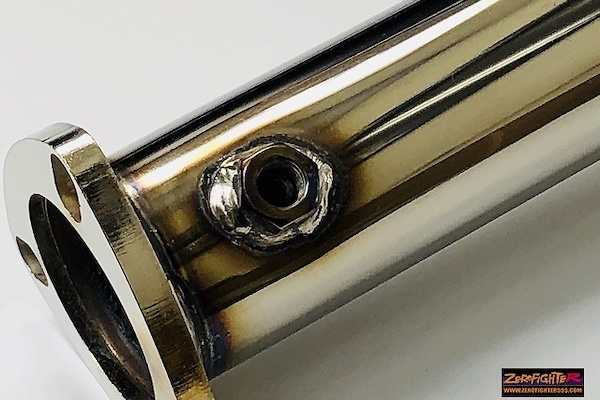 ZEROFIGHTER - Stainless Catalyst Straight Pipe