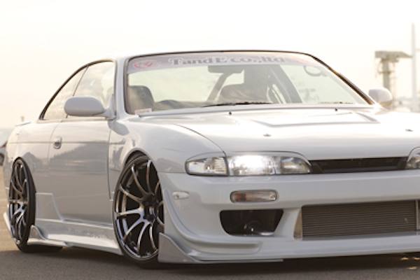 Car Make T&E - Vertex Lang - Silvia S14 S1 Body Kit